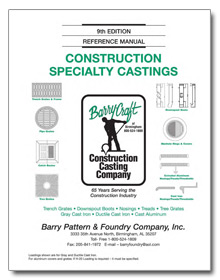 Construction Specialty Castings - Barrycraft