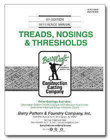 Treads, Nosings & Thresholds - Barrycraft